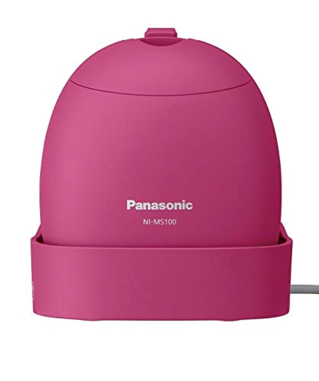 イル習慣アイスクリームパナソニック 衣類スチーマー モバイル 軽量コンパクトモデル ビビッドピンク NI-MS100-VP