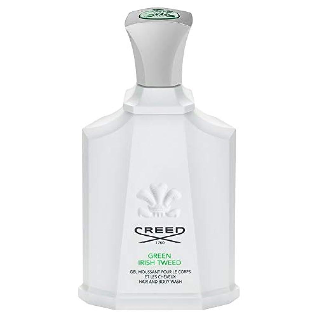 時々不幸論理的[Creed ] 信条グリーンアイリッシュツイードシャワージェル200Ml - CREED Green Irish Tweed Shower Gel 200ml [並行輸入品]
