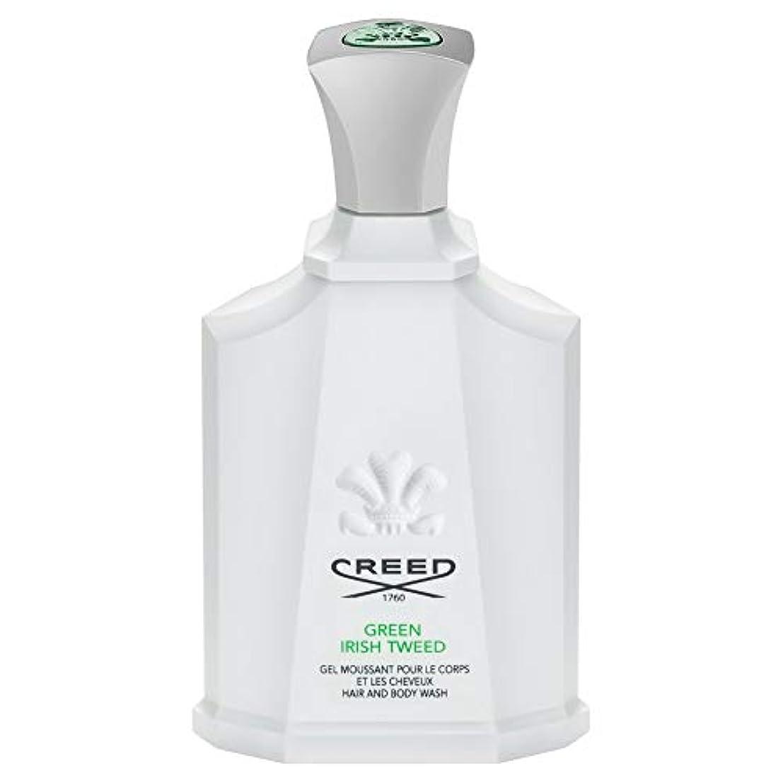 異なる通知するラフト[Creed ] 信条グリーンアイリッシュツイードシャワージェル200Ml - CREED Green Irish Tweed Shower Gel 200ml [並行輸入品]