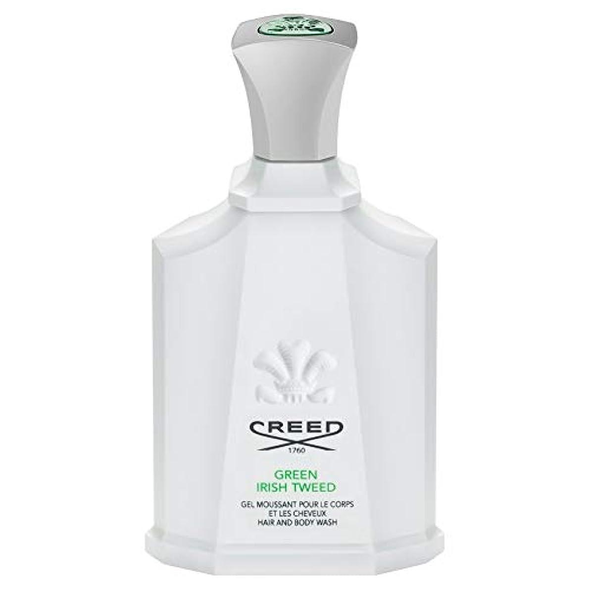 帳面ページ多用途[Creed ] 信条グリーンアイリッシュツイードシャワージェル200Ml - CREED Green Irish Tweed Shower Gel 200ml [並行輸入品]