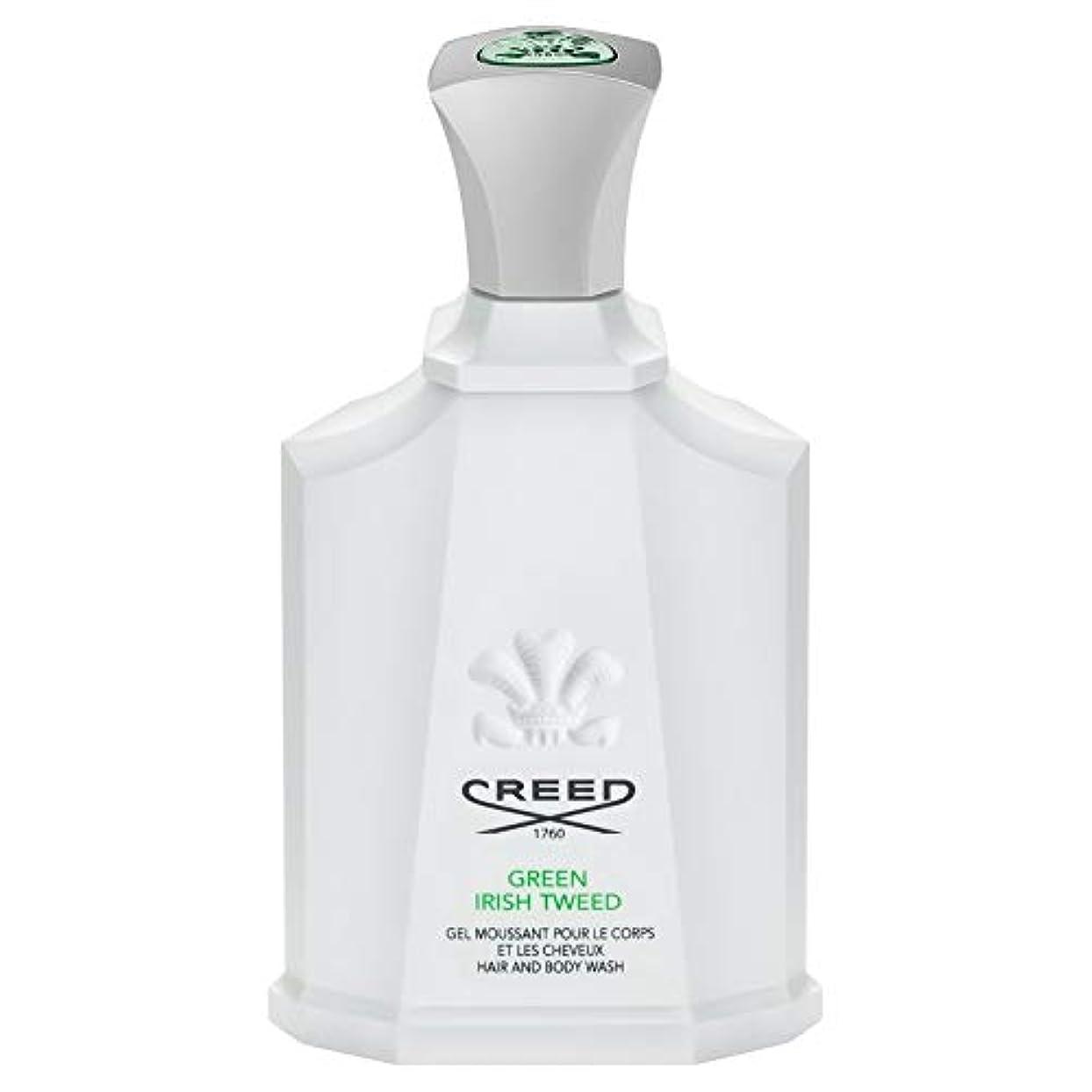 賃金時々時々仕方[Creed ] 信条グリーンアイリッシュツイードシャワージェル200Ml - CREED Green Irish Tweed Shower Gel 200ml [並行輸入品]
