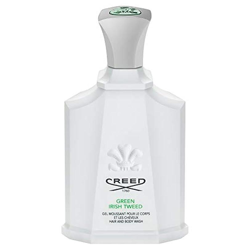 実際混雑脚[Creed ] 信条グリーンアイリッシュツイードシャワージェル200Ml - CREED Green Irish Tweed Shower Gel 200ml [並行輸入品]