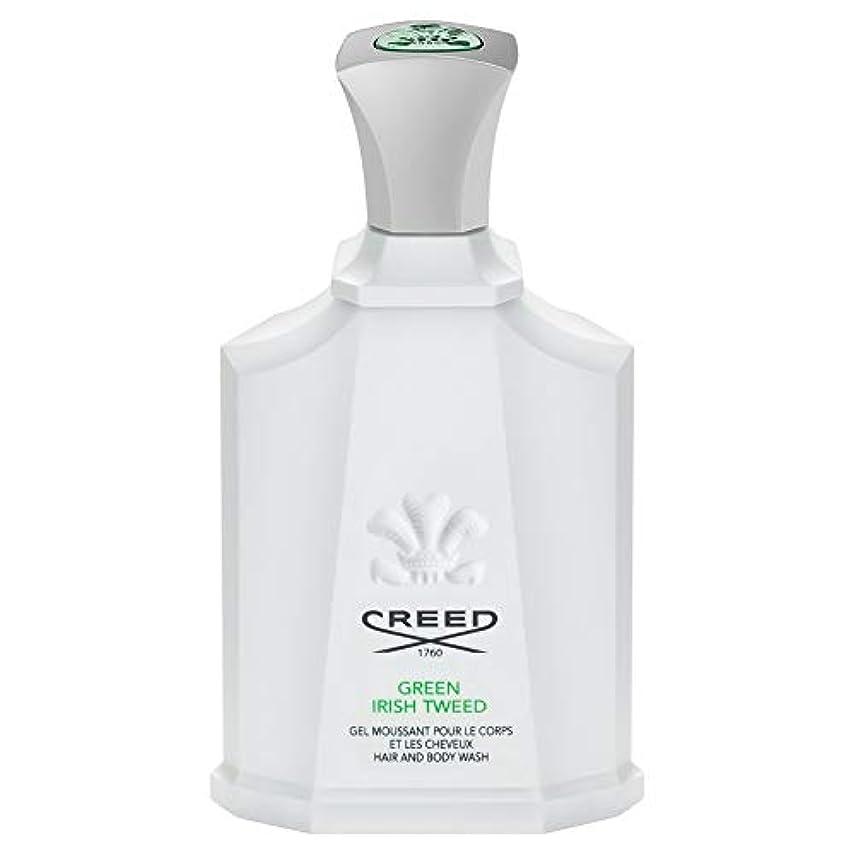 男ホイッスルふさわしい[Creed ] 信条グリーンアイリッシュツイードシャワージェル200Ml - CREED Green Irish Tweed Shower Gel 200ml [並行輸入品]
