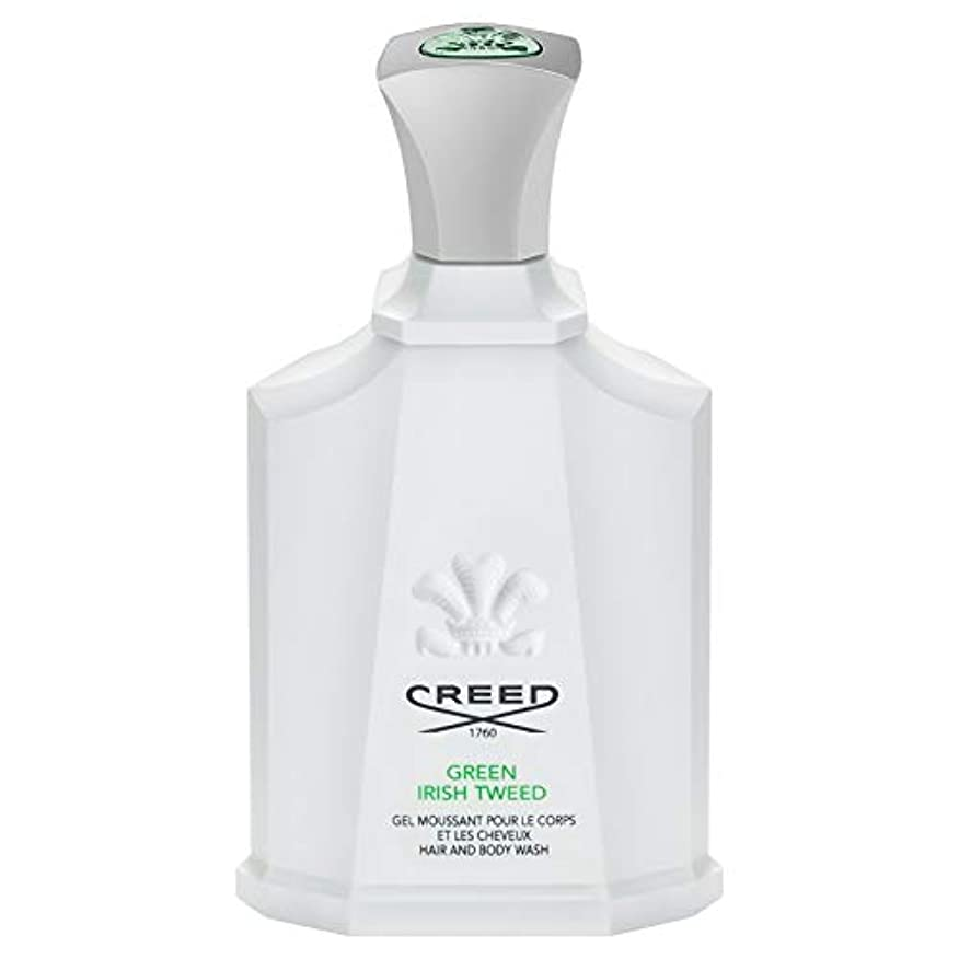 ログコウモリ肌[Creed ] 信条グリーンアイリッシュツイードシャワージェル200Ml - CREED Green Irish Tweed Shower Gel 200ml [並行輸入品]