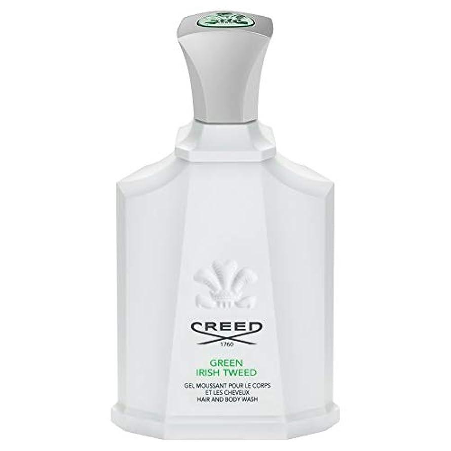いちゃつくアナウンサー外交官[Creed ] 信条グリーンアイリッシュツイードシャワージェル200Ml - CREED Green Irish Tweed Shower Gel 200ml [並行輸入品]