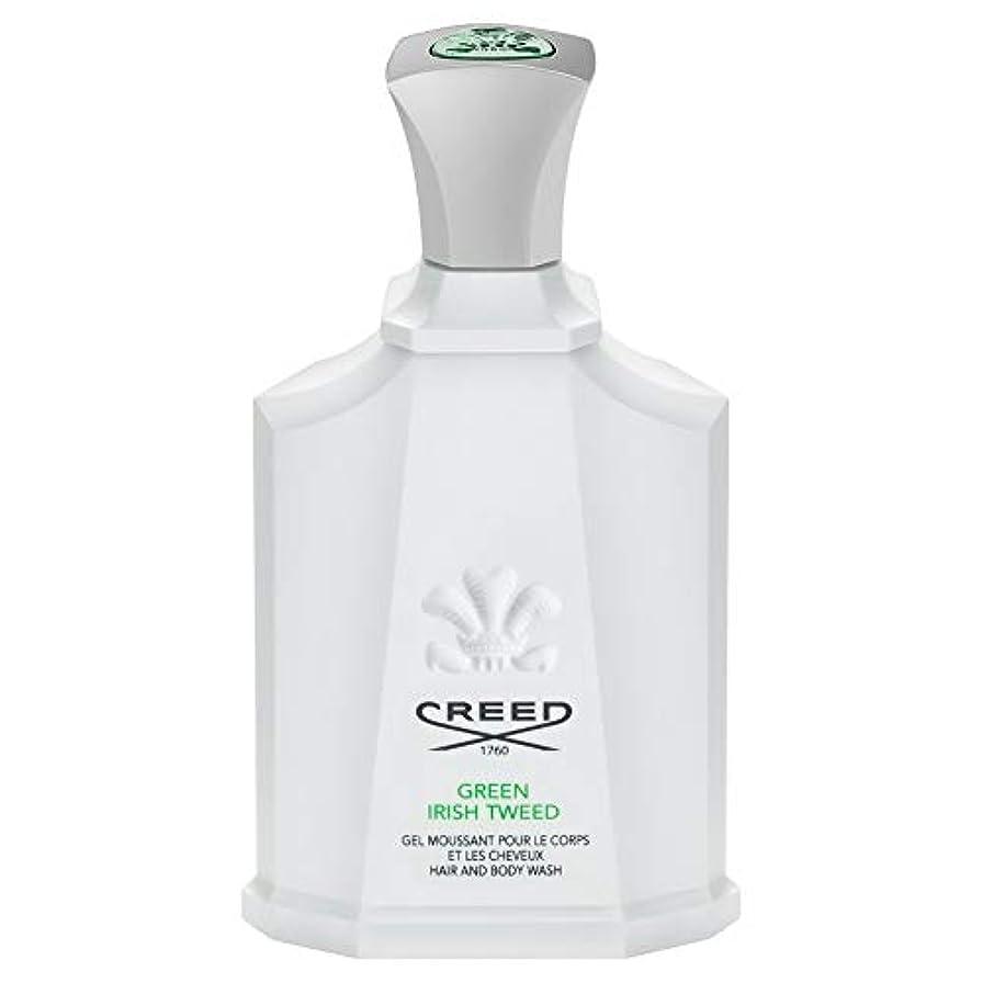 厳しい追い払う航空機[Creed ] 信条グリーンアイリッシュツイードシャワージェル200Ml - CREED Green Irish Tweed Shower Gel 200ml [並行輸入品]