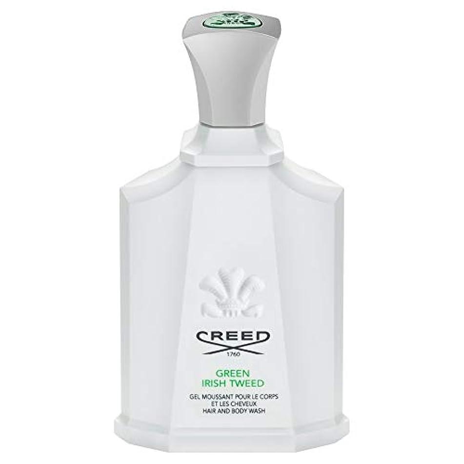 コンサートファイナンス失[Creed ] 信条グリーンアイリッシュツイードシャワージェル200Ml - CREED Green Irish Tweed Shower Gel 200ml [並行輸入品]