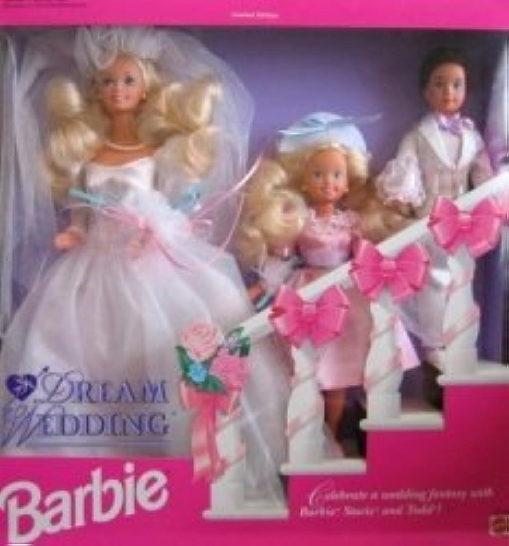 バービー ドリーム ウェディング Gift Set w バービー, Stacie Todd ドール (1993) 131002fnp [並行輸入品]