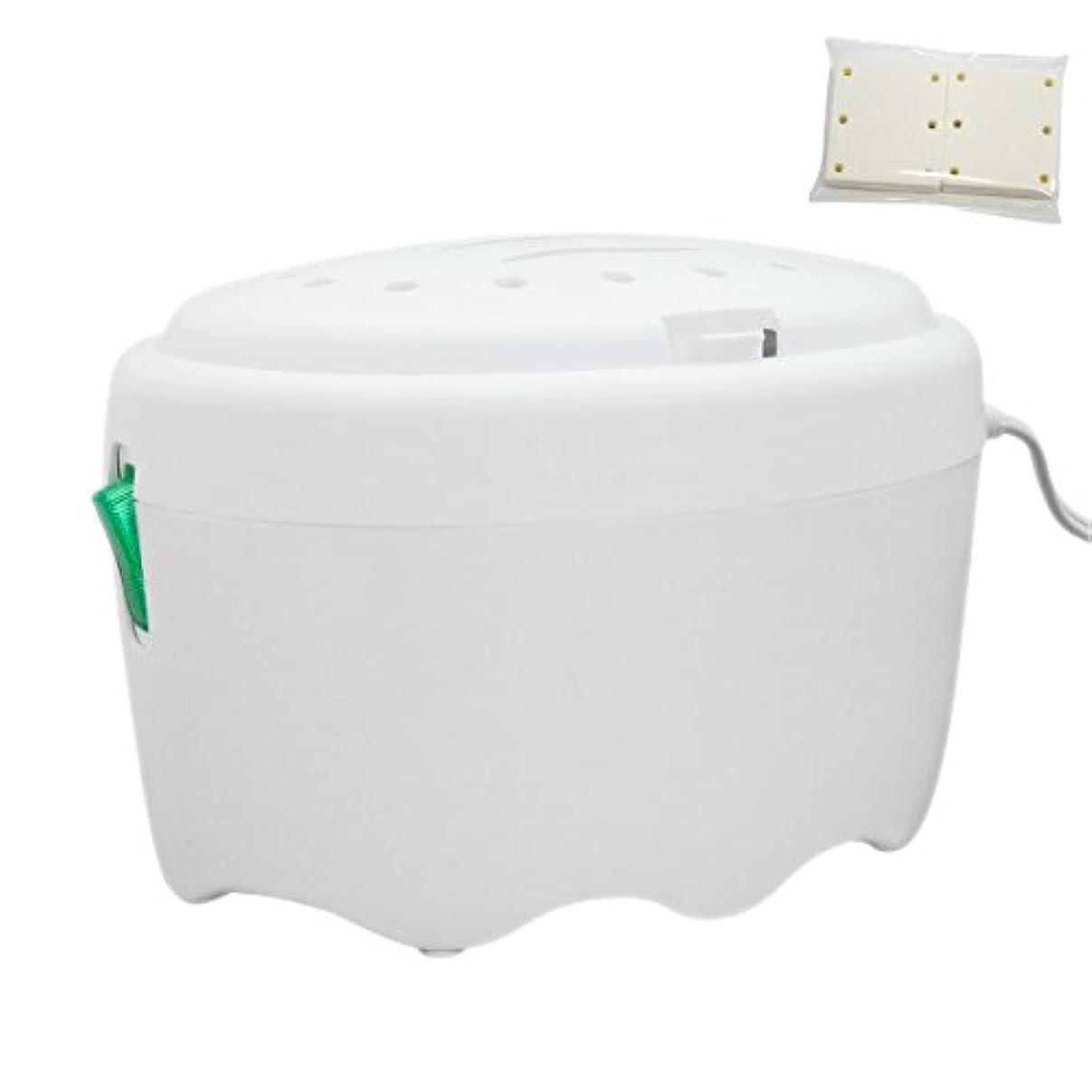 ブリーフケース義務石アロマブリーズ フレンズ ホワイト ファン式電源コードタイプ芳香器