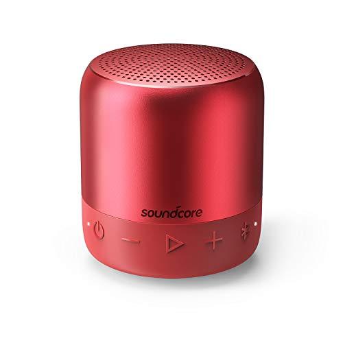 Soundcore Mini 2(6W Bluetooth4.2 スピーカー by Anker)【BassUpテクノロジー / IPX7防水規格 / 15時間連続再生 / ワイヤレスステレオペアリング / コンパクト設計】(レッド)