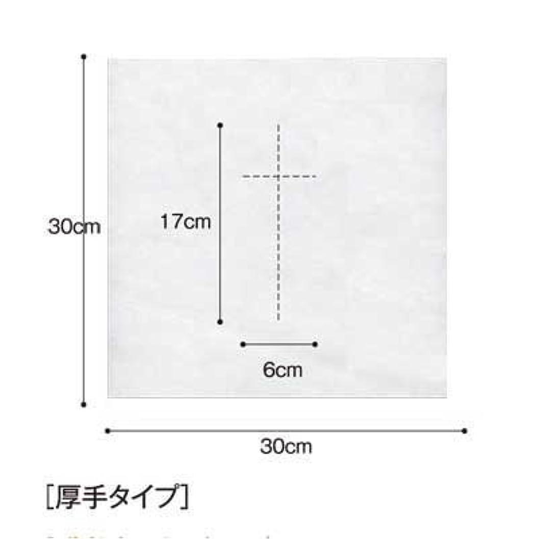 罰する条約パズル(ロータス)LOTUS 日本製 ピロカバー DX 十字カット 100枚入 業務用 マッサージ 、エステ 厚みのあるタイプ
