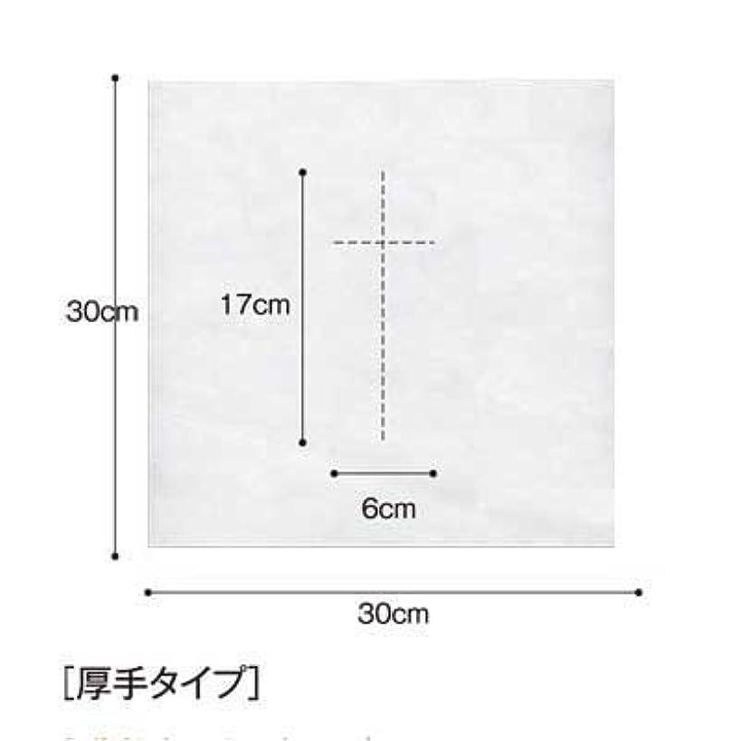 テロ広がり立場(ロータス)LOTUS 日本製 ピロカバー DX 十字カット 100枚入 業務用 マッサージ 、エステ 厚みのあるタイプ