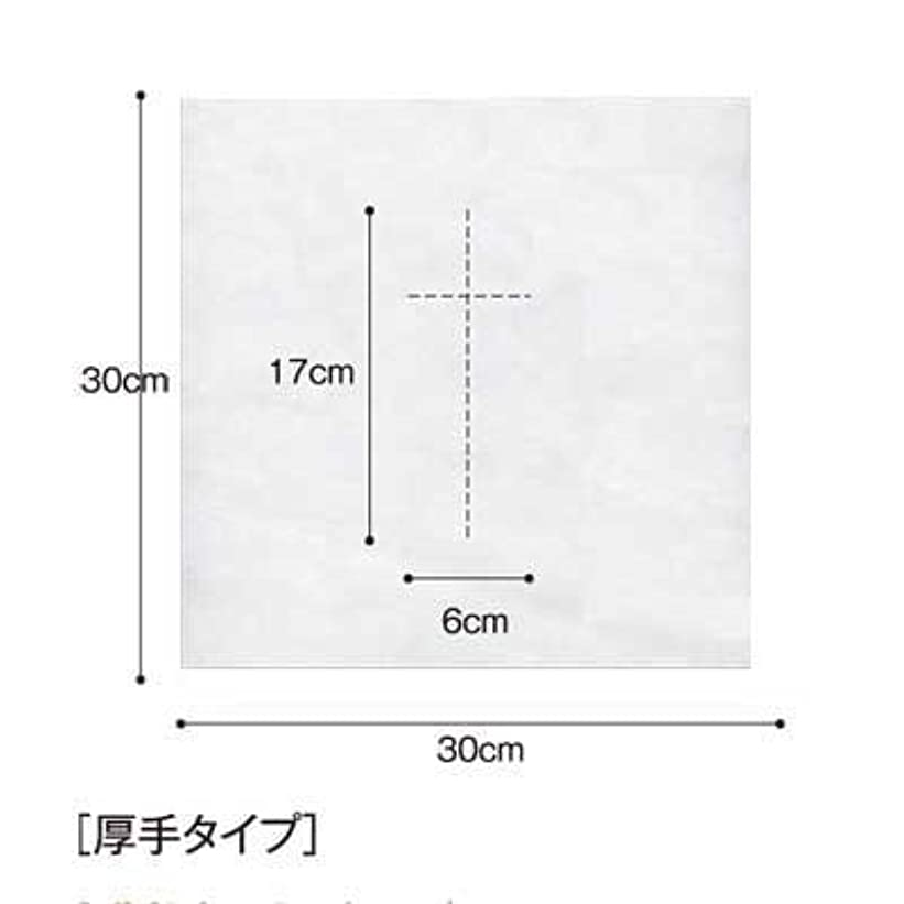 意識的涙やりがいのある(ロータス)LOTUS 日本製 ピロカバー DX 十字カット 100枚入 業務用 マッサージ 、エステ 厚みのあるタイプ