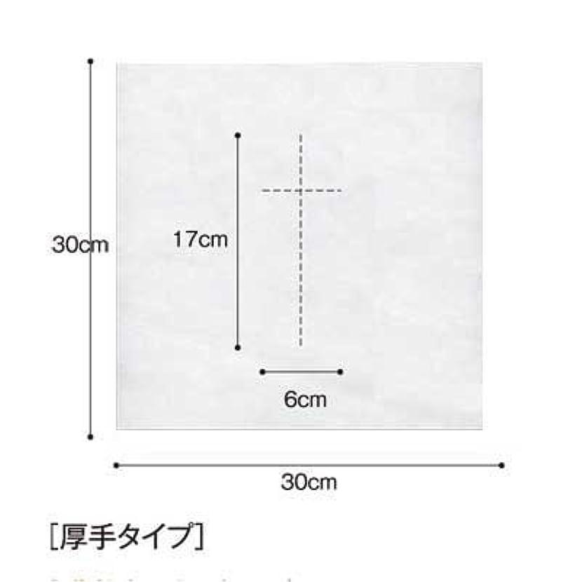 味方辛いショルダー(ロータス)LOTUS 日本製 ピロカバー DX 十字カット 100枚入 業務用 マッサージ 、エステ 厚みのあるタイプ
