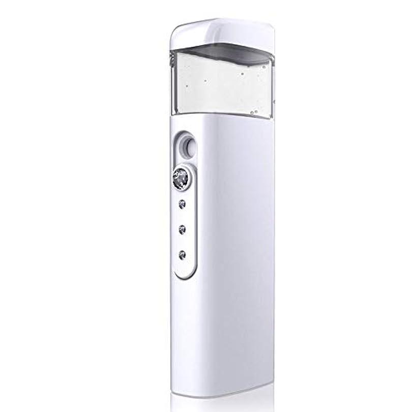 冷凍庫強化取り出す30ml視覚水Makeが付いている携帯用顔の保湿のスプレーヤー、スキンケア、構造、まつげ延長、旅行のための保湿及び水和 (Color : White)