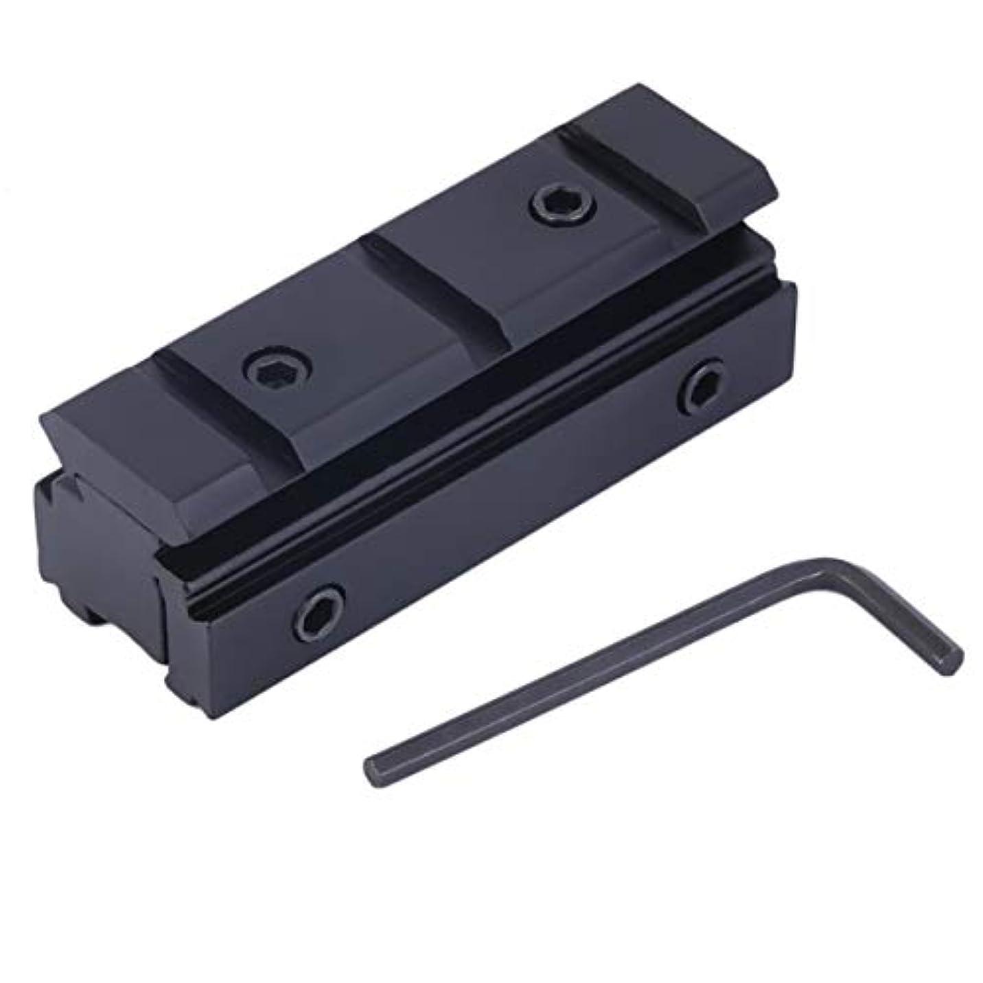 ライオネルグリーンストリート判決乳DeeploveUU Picatinny 11mmから20mmへのダブテールへウィーバーレールマウントベースアダプタースコープマウントコンバーター用ライフル懐中電灯視力無料