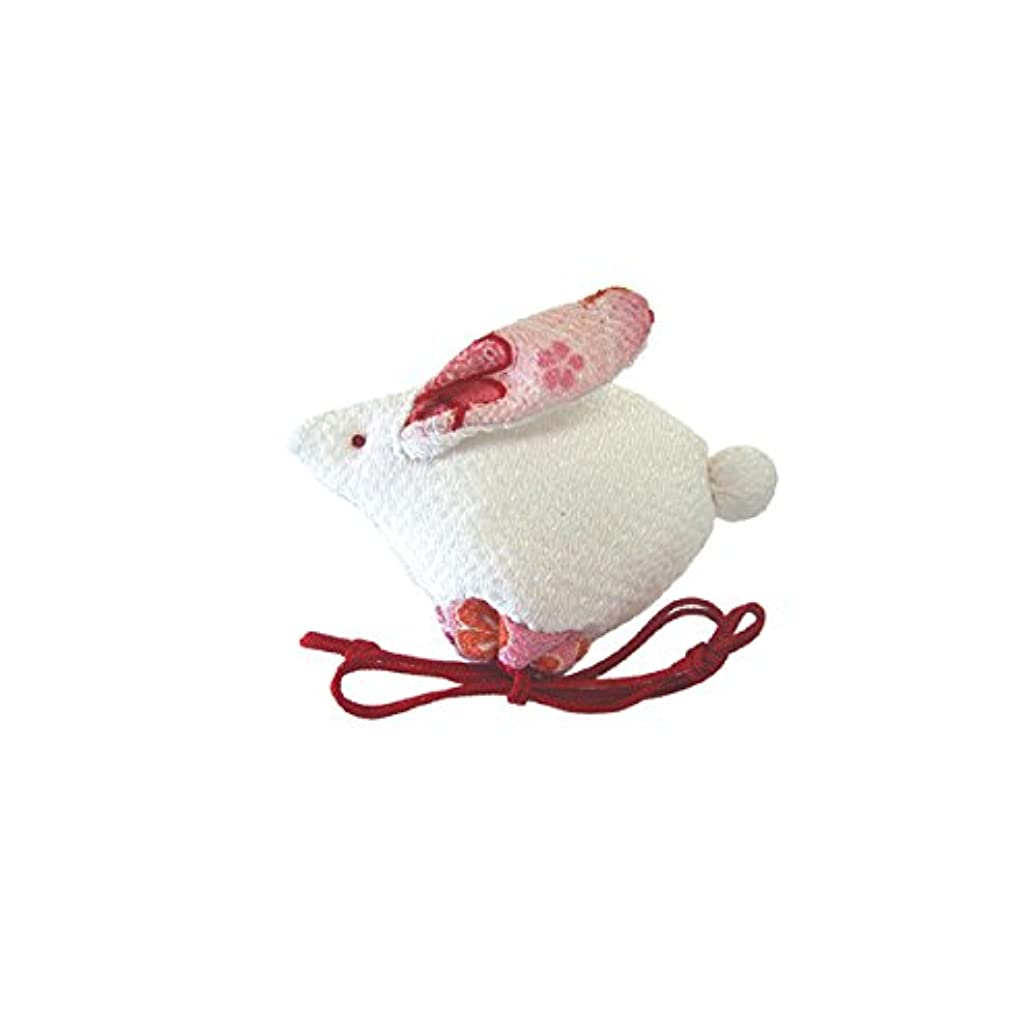 ひばり信頼性のあるパーティション匂袋 十二支巾着 卯(うさぎ)