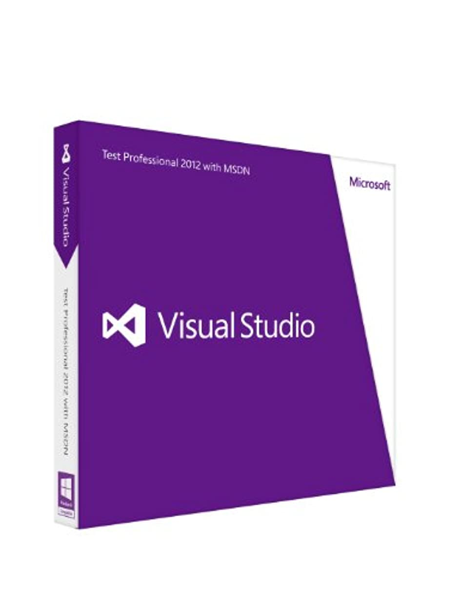 ちらつき普遍的な販売計画Microsoft Visual StudioTest Professional 2012 with MSDN 通常版