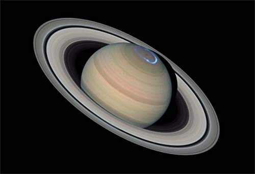 Aのスペースポスター土星オーロラFineアートプリント 12-x-18-inch 12-NHAV-0312
