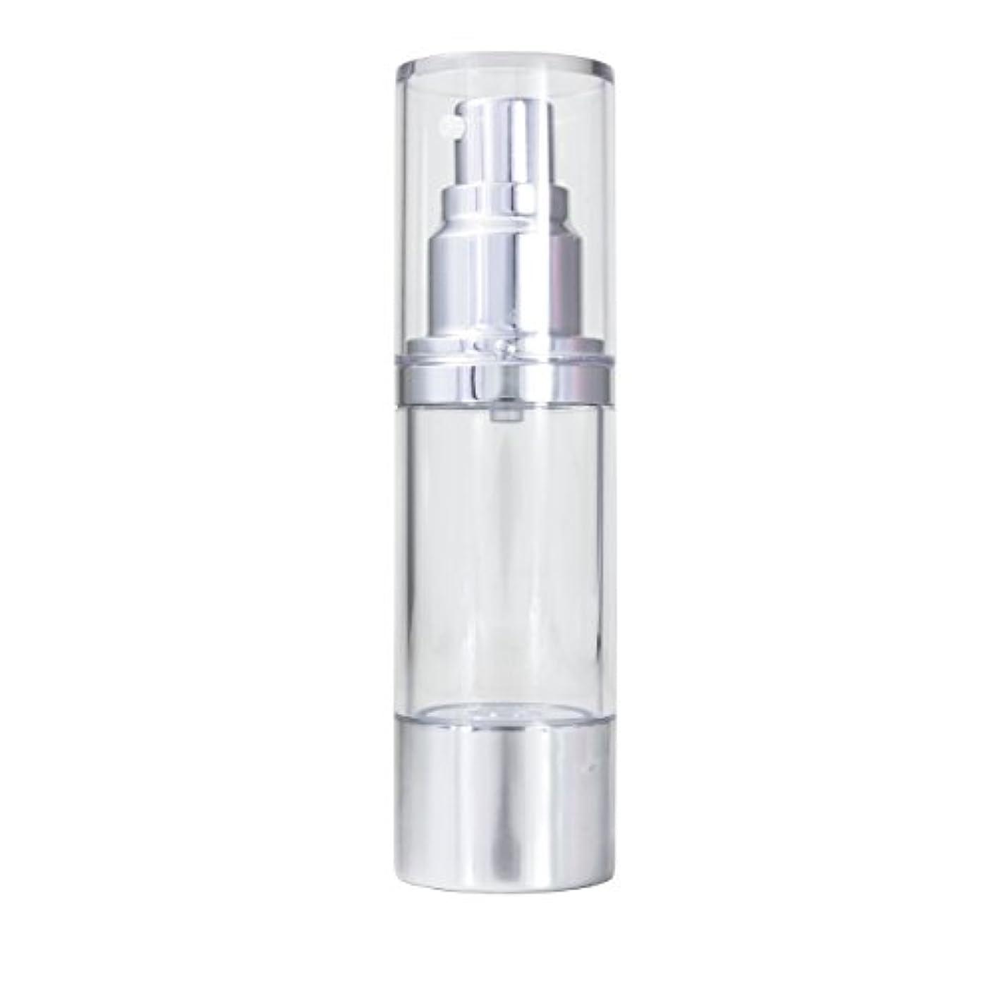 海里線形発掘するエアレス 容器 30ml 【化粧品容器】