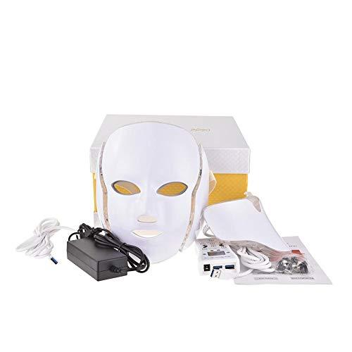 7色LED美顔マスク 家庭用LED美顔器 ニキビケア しわ対策 毛穴ケア シワ ...