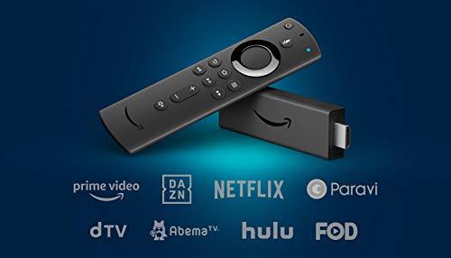 新登場  Fire TV Stick 4K - Alexa対応音声認識リモコン付属