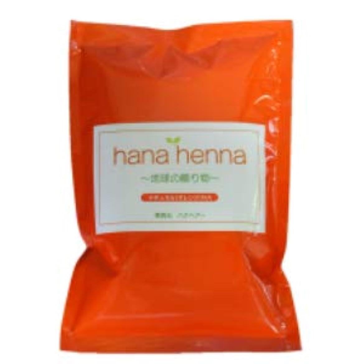 虐待窒素小包hana henna ハナヘナ ナチュラル(オレンジ)100g