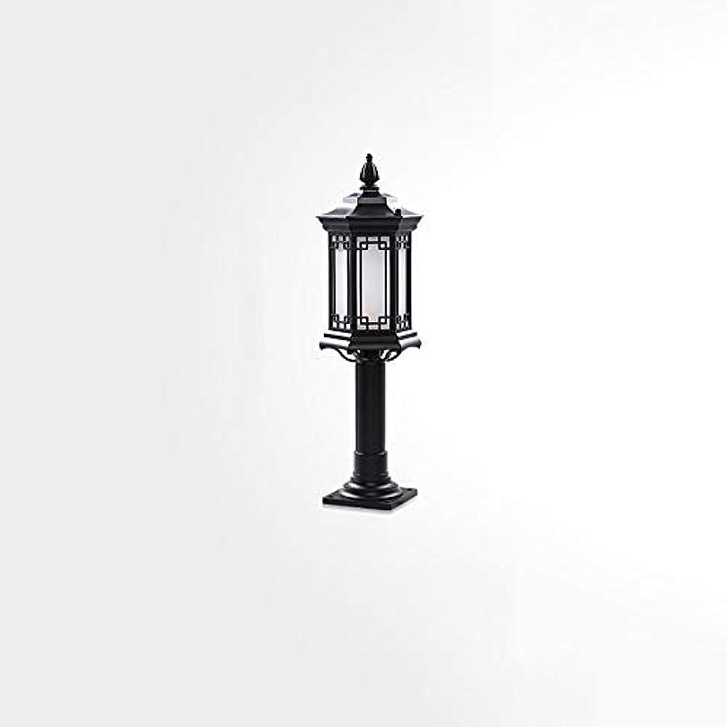 エンゲージメント補正放置Pinjeer E27高さ73センチヴィンテージ屋外防水ガラスポストライト超明るいレトロ工業アルミ柱ランプ風景ガーデンストリートヴィラホーム装飾コラムライト