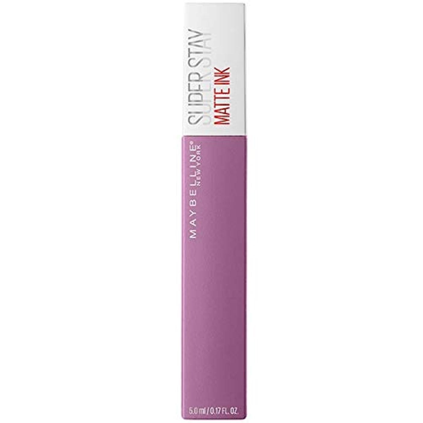 フレッシュパスタ分[Maybelline ] メイベリンSuperstayマットインク100哲学者 - Maybelline Superstay Matte Ink 100 Philosopher [並行輸入品]