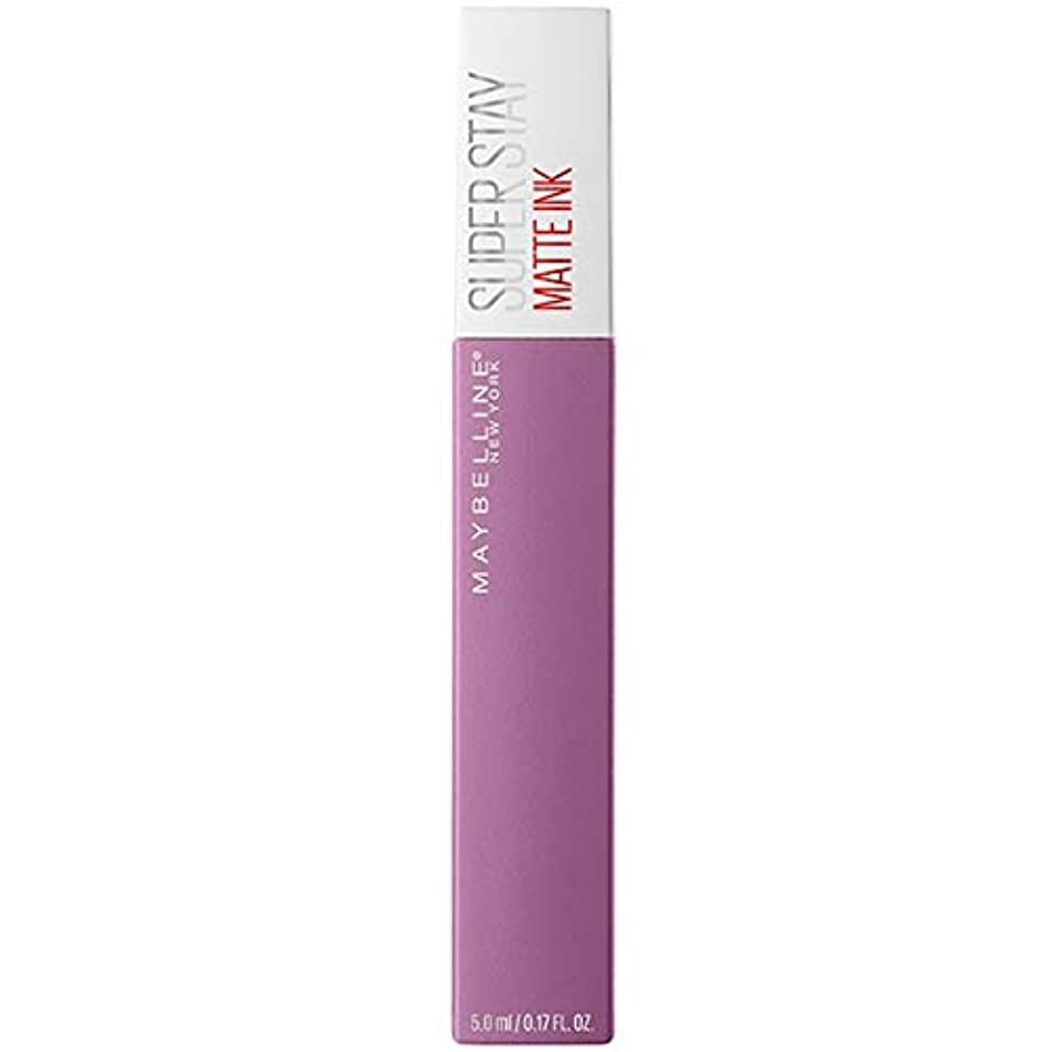 航空機負磁気[Maybelline ] メイベリンSuperstayマットインク100哲学者 - Maybelline Superstay Matte Ink 100 Philosopher [並行輸入品]