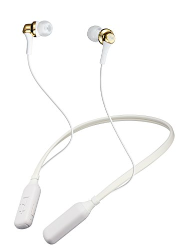 JVC HA-FX57BT-N Bluetooth 連続14時間再生ワイヤレスイヤホン/ネックバンド メタリックボディ ゴールド