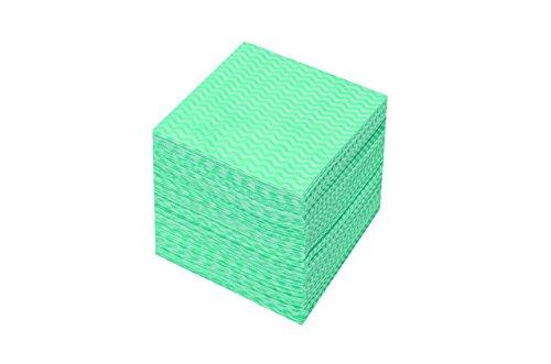 使いきりカウンタークロス ミニ グリーン 1セット 300枚:100枚×3パック