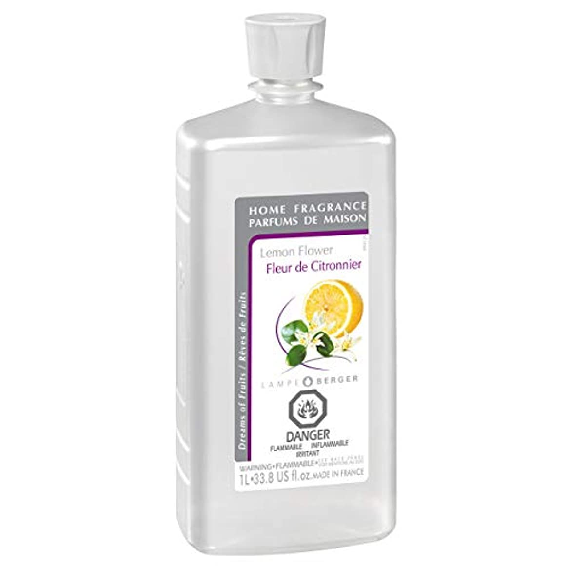 墓地ジャム土砂降りLampe Berger Fragrance, 33.8 oz , Lemon Flower by Lampe Berger