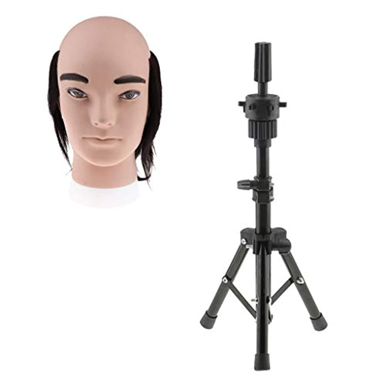 T TOOYFUL ヘアプラクティスヘッド 男性 ヘアスタイリングヘッド メイク道具