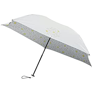 mabu 晴雨兼用 折りたたみ傘 「 ヒートカット 」 ライト スノーレオパード