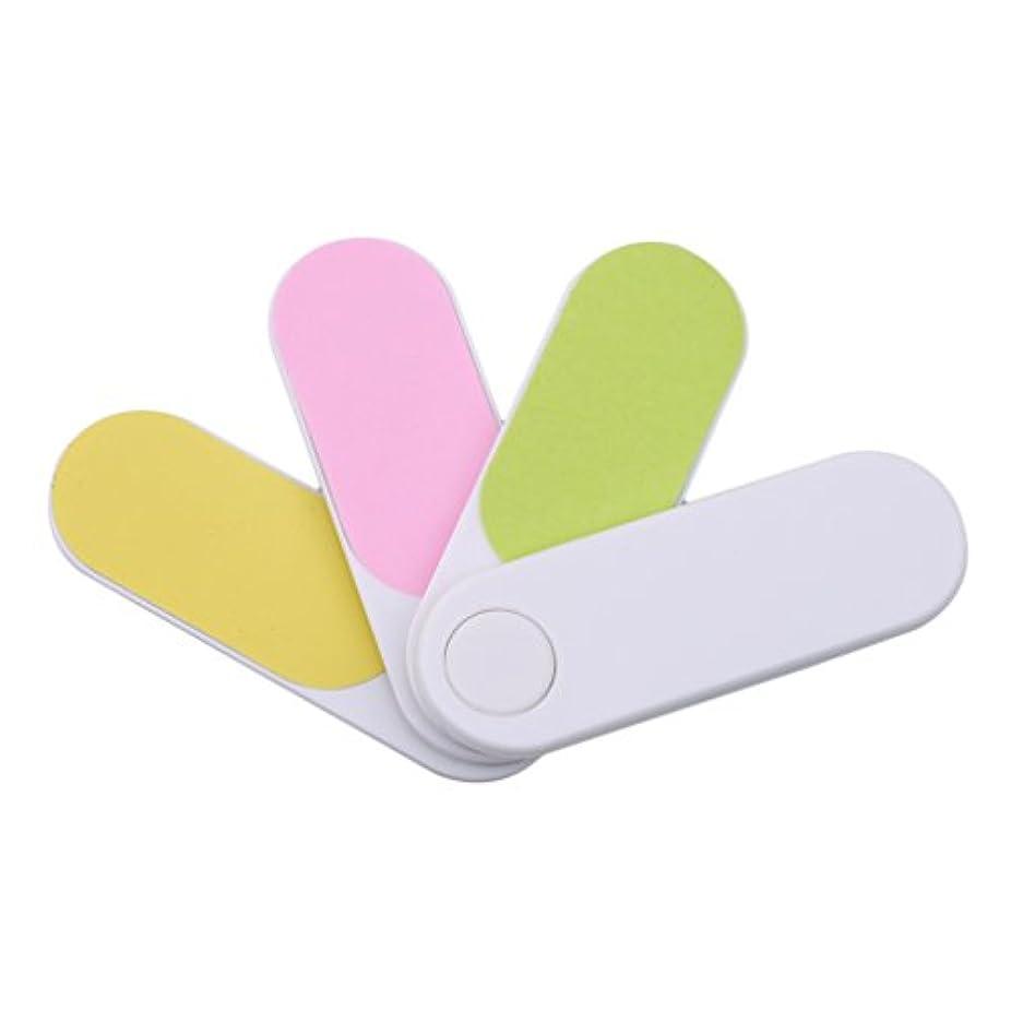 ピンポイント眉をひそめるナイトスポットHKUN 爪やすり 爪磨き ネイルケア プラスチック製 ミニサイズ