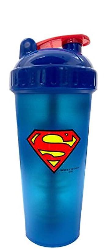 回る側面慢性的Perfect Shaker Hero Series Superman Shaker Cup, 28 oz (800ml) by Perfect Impressions