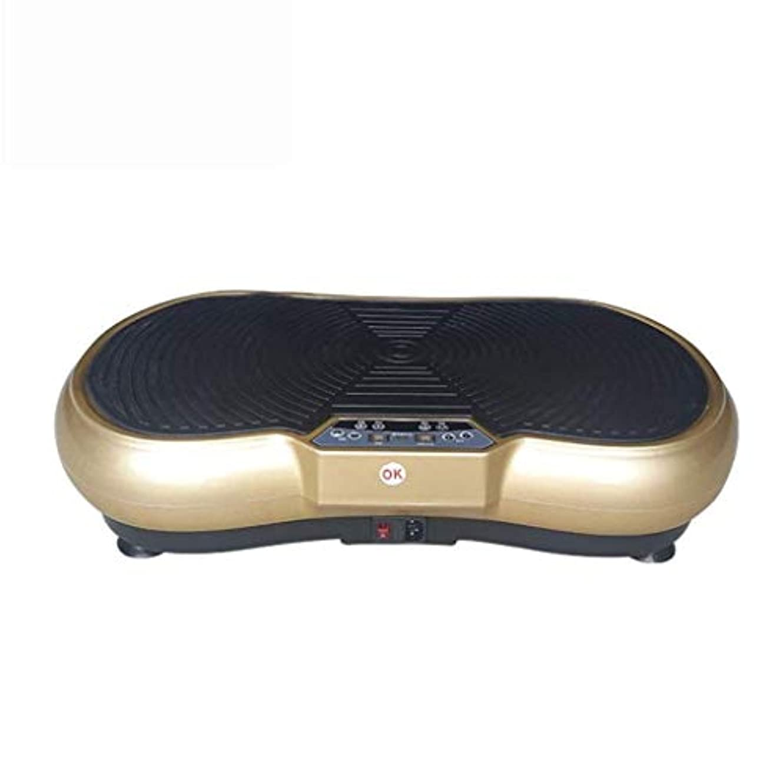濃度皮肉な器用減量マッサージ機、3Dフィットネス振動トレーナー、全身振動フィットネスマシン、ユニセックス、リモコン付き、減量/シェーピング/フィットネス用 (Color : B)