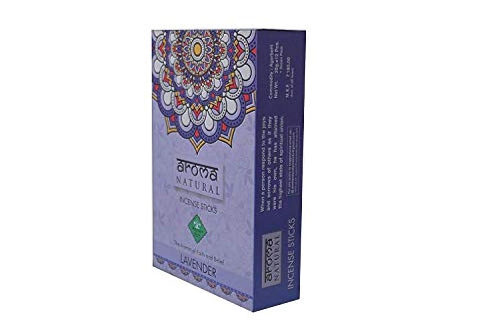 毎回賞賛する反逆者INSCENSE Stick AGARBATTI Lavender 240 GMS AROMA NATURAL PRODUCTS
