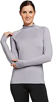 Solbari UPF 50+ Women's Sun Protection Turtleneck Base Layer CoolaSun Collection - UV Protection, Sun Prot