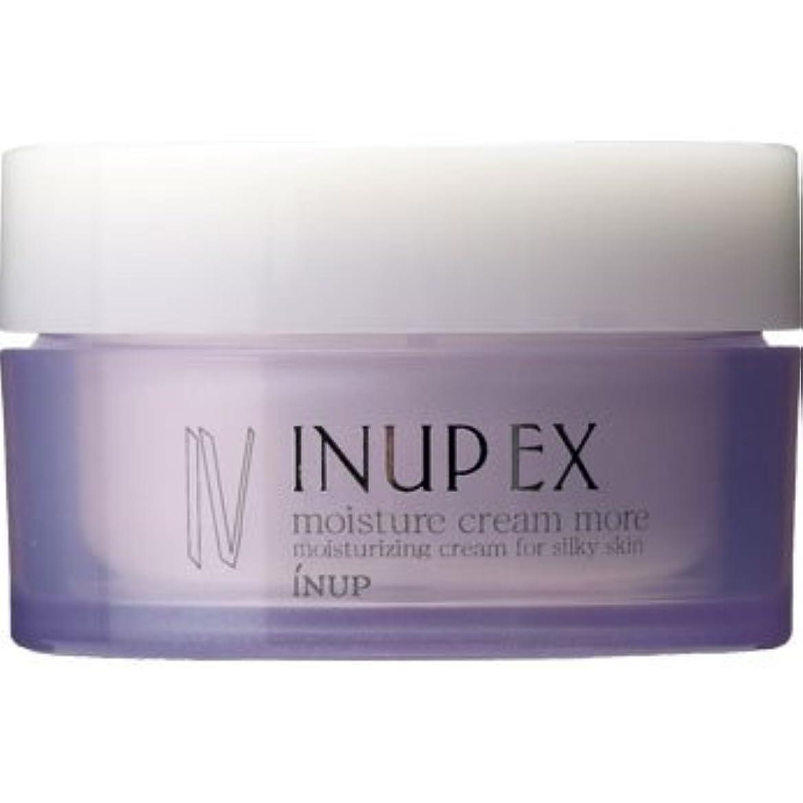 小人それに応じて始めるインナップEX 保湿クリーム (潤い効果アップ) モイスチャークリーム MD (スパチュラ付)[弱酸性] 30g