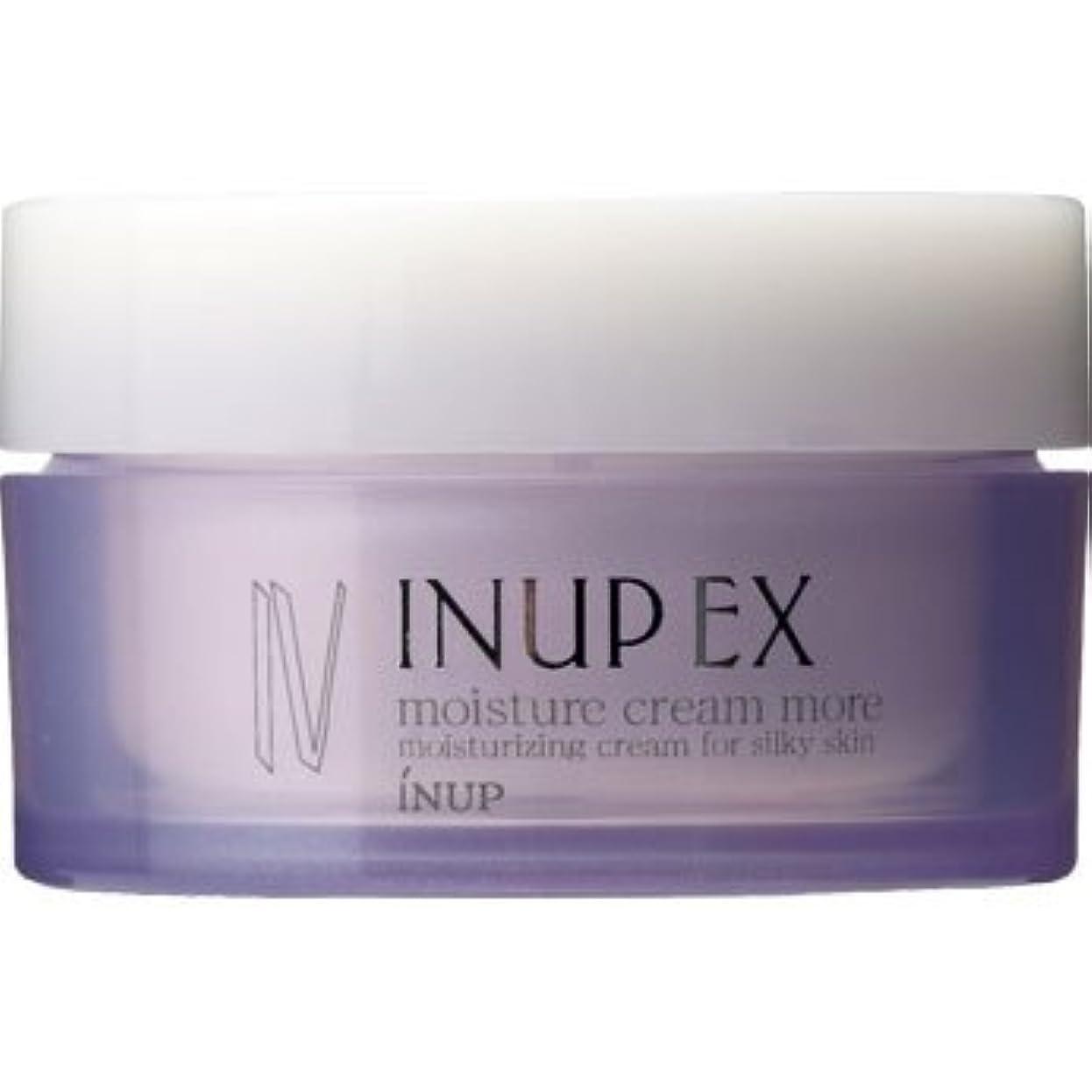 伝導率暖かさ告発者インナップEX 保湿クリーム (潤い効果アップ) モイスチャークリーム MD (スパチュラ付)[弱酸性] 30g