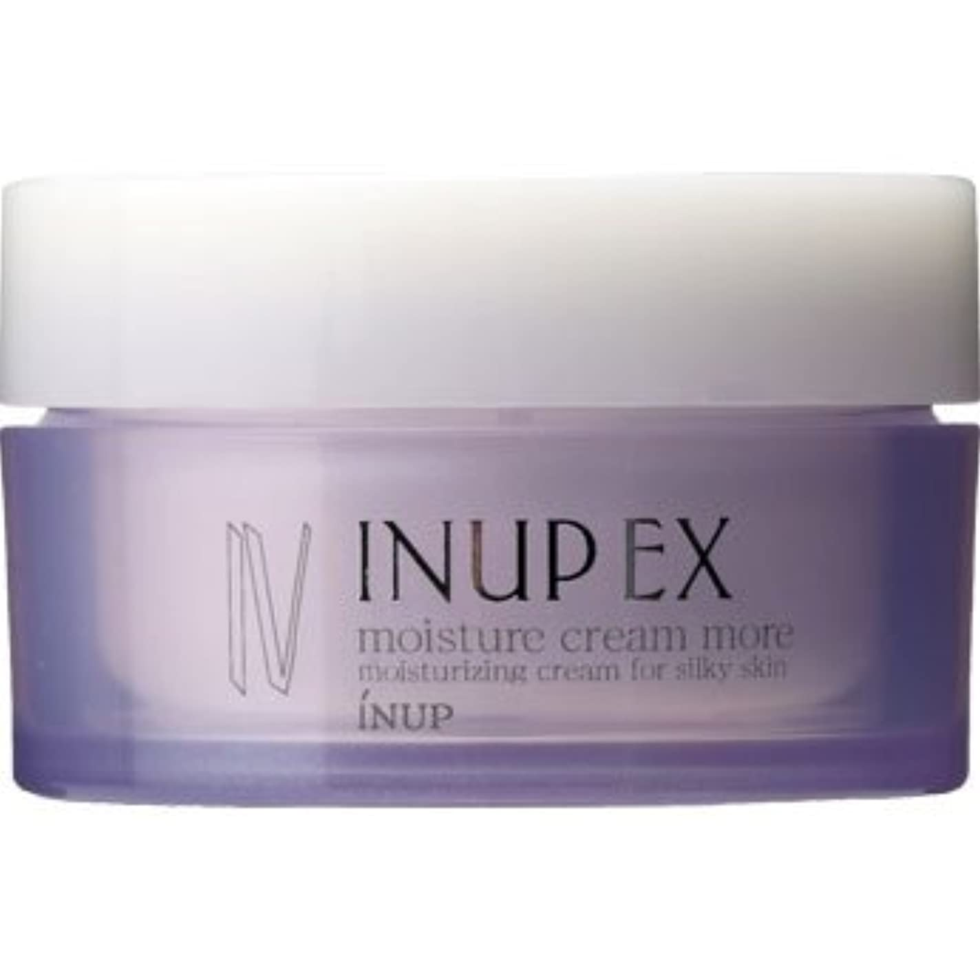 インナップEX 保湿クリーム (潤い効果アップ) モイスチャークリーム MD (スパチュラ付)[弱酸性] 30g