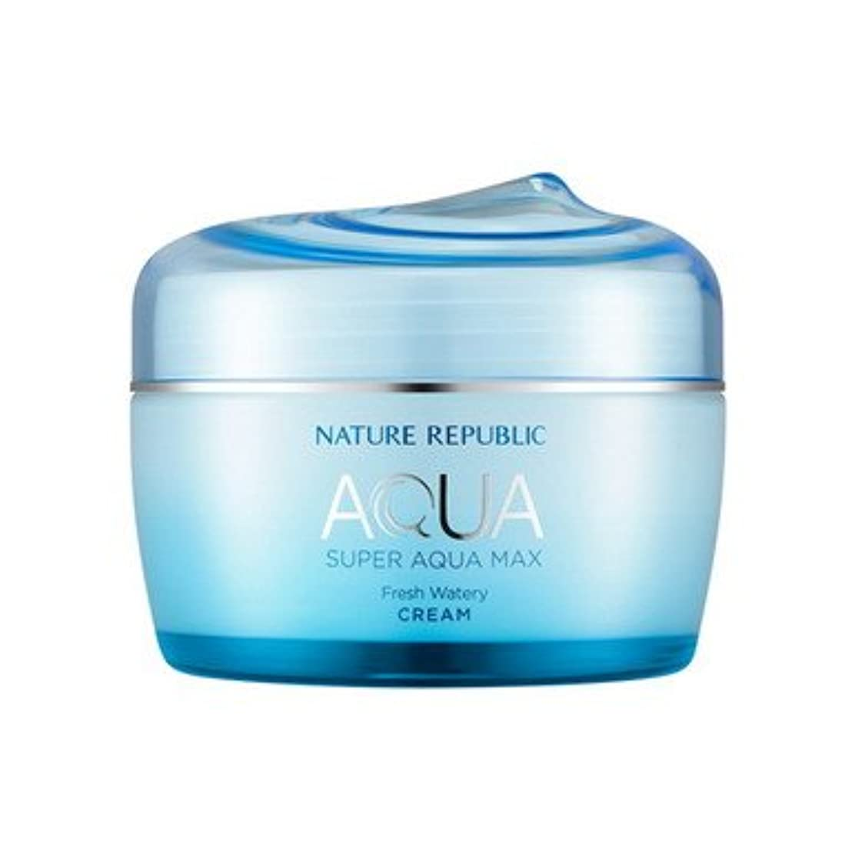 NATURE REPUBLIC (ネイチャーリパブリック) スーパーアクア マックス フレッシュ水分クリーム80ml(オイリー肌向け)(2015年リニューアル版) [並行輸入品]