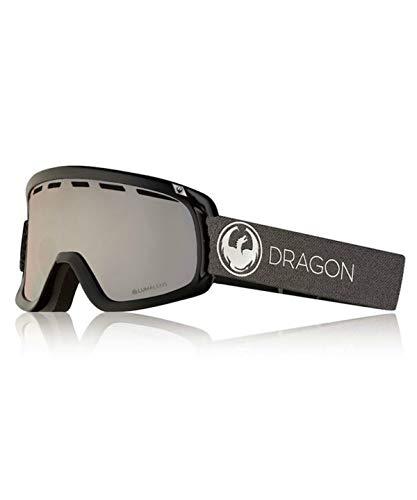 ドラゴン スキー スノーボードゴーグル 眼鏡対応 ディーワン エコーシルバー D1 ECHO SILVER LUMA J SV