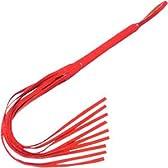 本格的 9尾 バラムチ!本革の高級感溢れる風合い!紅色 紅椿 ソフト