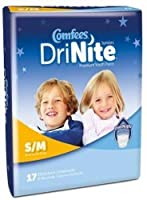 ATTENDS Comfees Absorbent Underwear Comfees Pull On Small / Medium Disposable (#CMF-YS, Sold Per Case) by Comfees