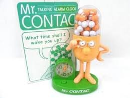 Mr.コンタック おしゃべり 目覚まし時計