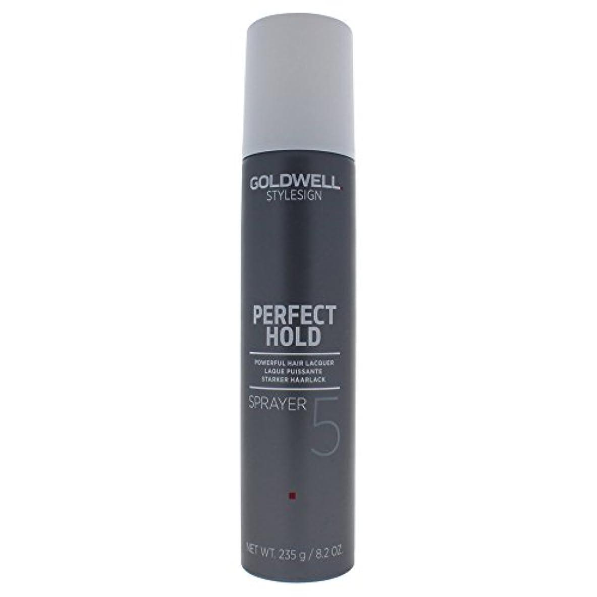 鮮やかな汚染叫ぶGoldwell 女性のヘアスプレー用Stylesignヘアーラッカースプレー5、8.19オンス 8.2オンス