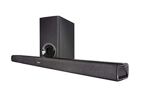 DENON DHT-S316 サウンドバー ARC/Bluetooth対応 ワイヤレス サブウーハー ブラック DHTS316K